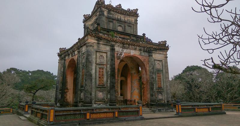 Hué  de graftombes van de Nguyen dynastie