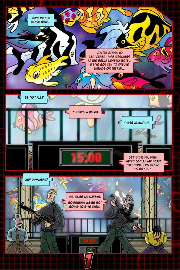 Rainbow Six 3 Page 1