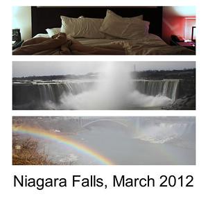Niagara Falls March 2012