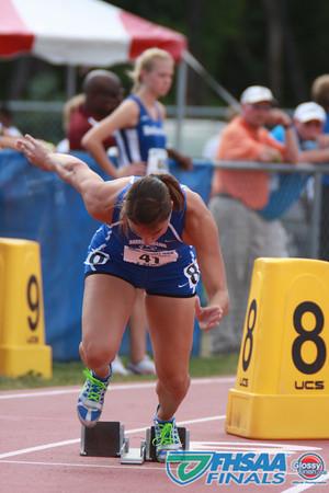 Class 3A - Running Event Finals - Boys and Girls 400m Dash