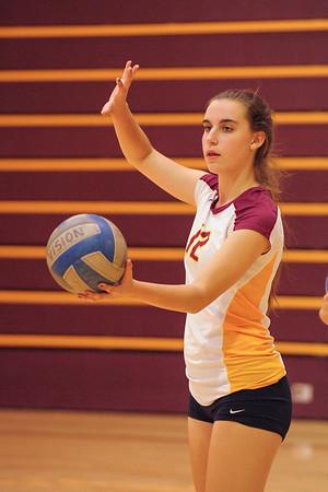 S. San Francisco vs. M-A Girl's JV Volleyball 2014-10-07