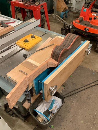 Luthier Body Vise