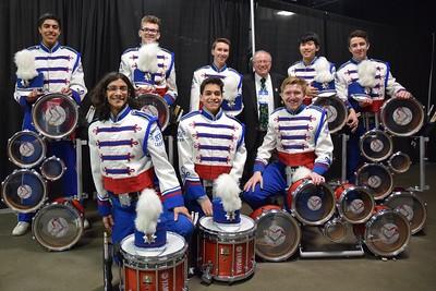 Drumline at Boston Celtics, 04/15/18