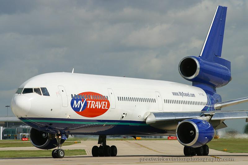 G-TAOS. McDonnell Douglas DC-10-10. My Travel. Manchester. 100503.