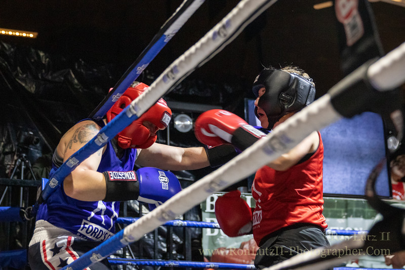 2019 White Collar Boxing Event - Bout 1