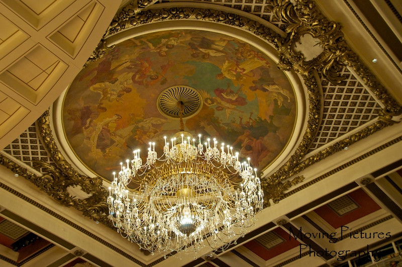 Music Hall - main chandelier