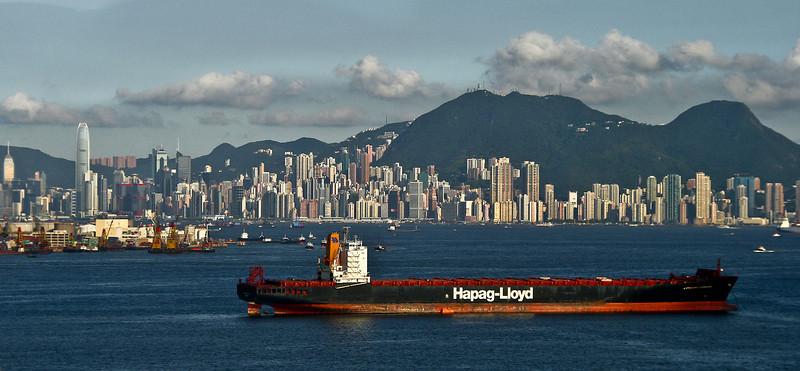 Hong Kong from Tsing Ma Bridge