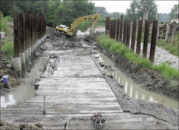 Jim Speer - Wabash-Erie Canal Timbers