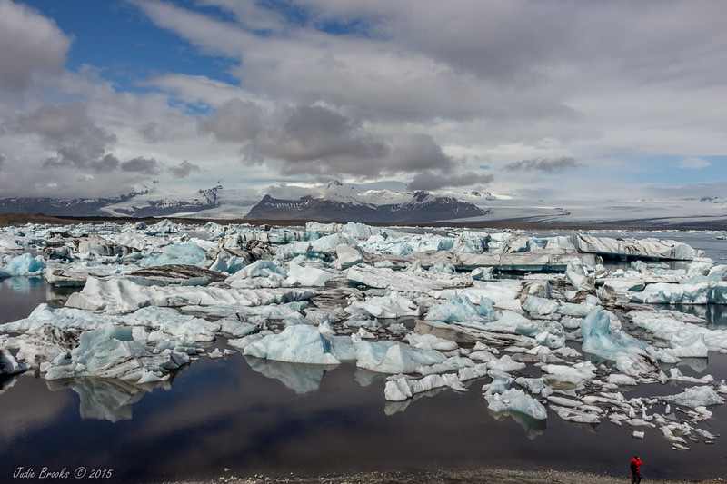 Jokulsarlon Ice Lagoon  Summer 2015   Judie Brooks
