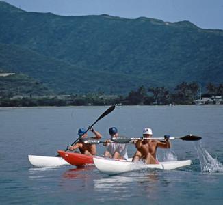 6th Annual OCC Kayak Race 1-26-1991