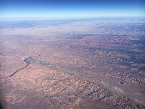 Aerial Photos - Moab to Goblin State Park, Utah