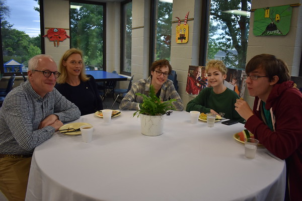 Senior-Parent Breakfast