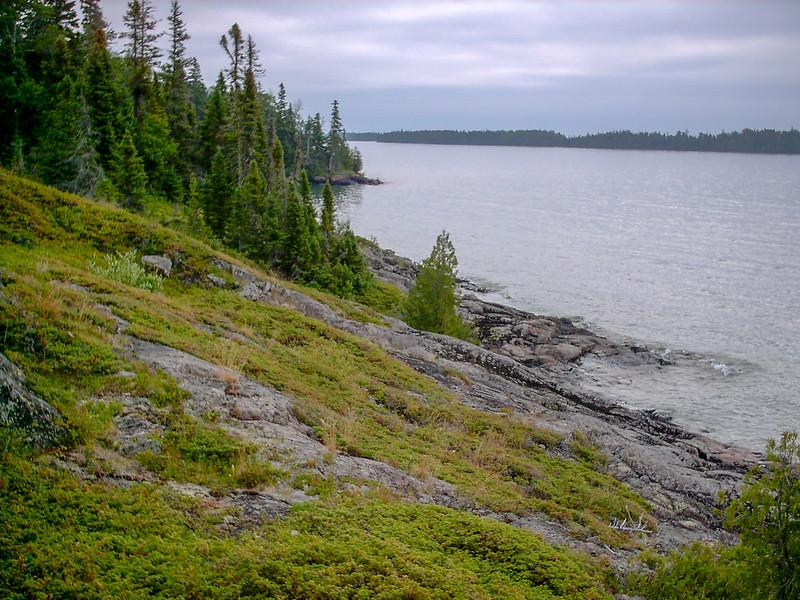 Isle Royale National Park  (45.5 miles; d=51.50)