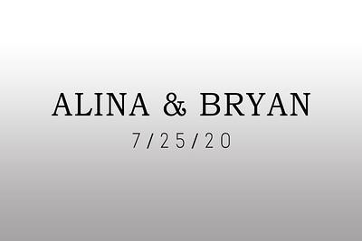 2020-07-25 Alina & Bryan
