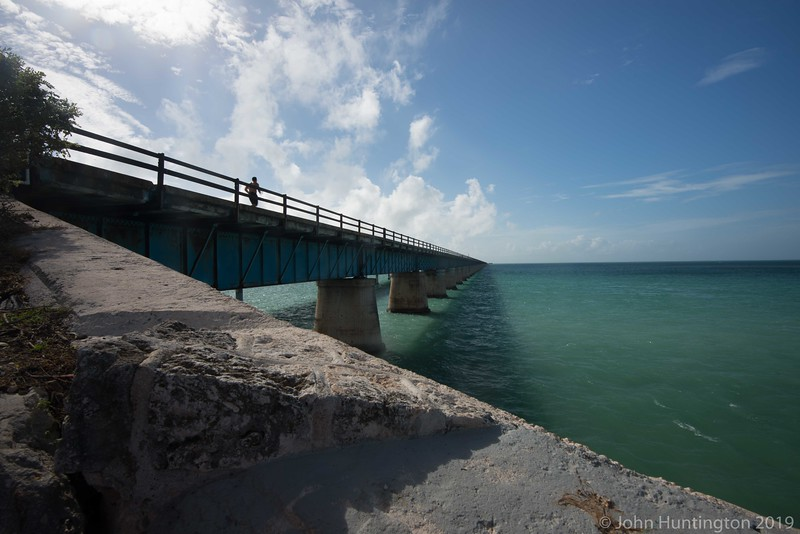 A bridge on the Florida Keys Overseas Heritage trail.