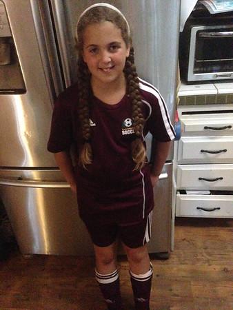Hanna's U9 Pride NorCal district 2 Soccer Tournament: 11/8&9/14