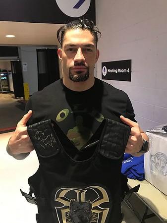 Roman Reigns - WWE Auction Pics