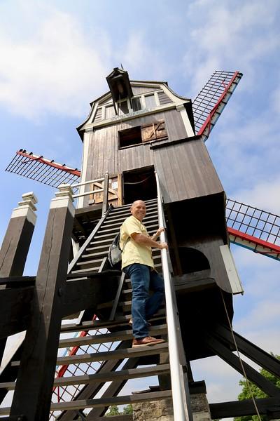 St. Janshuys Windmill - Bruges, Belgium