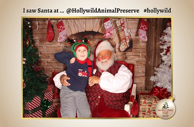 Hollywild Santa Photos - 121519