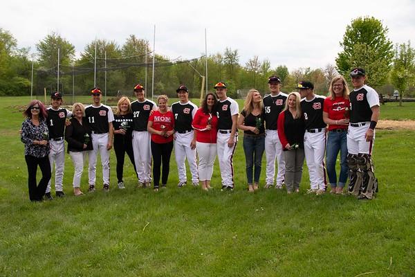 '19 Chardon Baseball Senior Night
