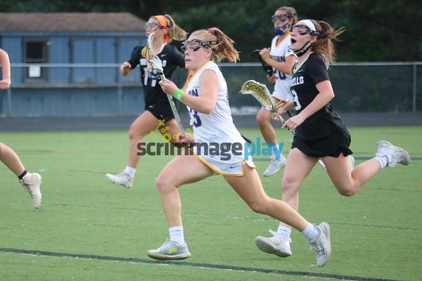 Western versus Monticello girls lacrosse 2021