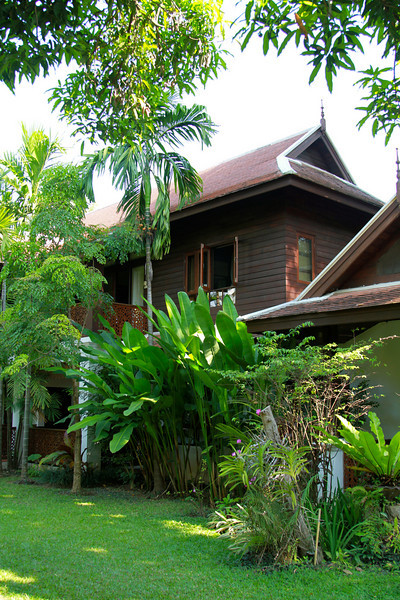 Home Sweet Home.  Our Guesthouse at Baan Orapin