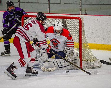 Hockey: Potomac Falls vs Rock Ridge/Heritage 02.08.2019 (by Al Shipman)