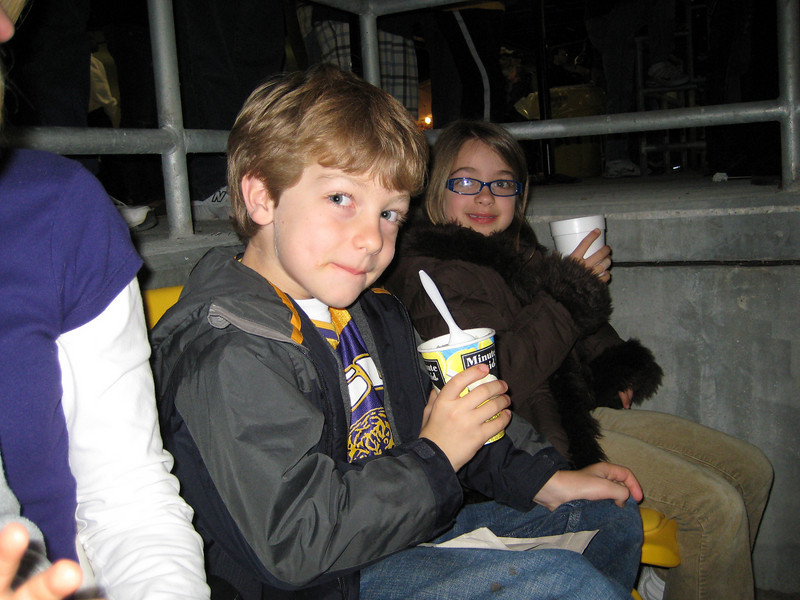 Day 18. LSU baseball game. Frozen lemonade: sweet or not sweet? I couldn't decide, so I abstained.