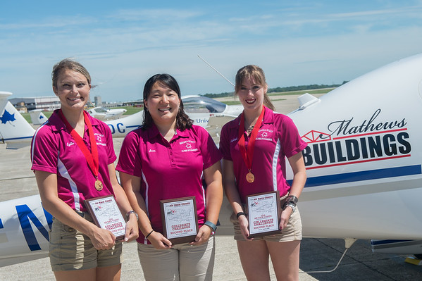 Women's Air Race Team Wins 2nd Place