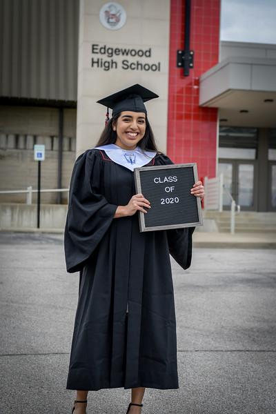 Allejandra Spear & Maria James EHS Graduation