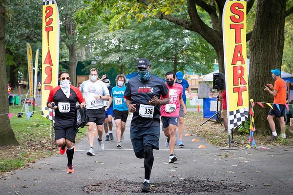 5K Race Alley Pond Park 2020