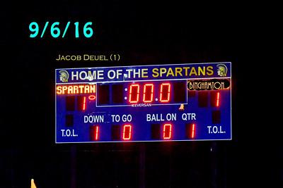 ME (1) Binghamton (1) Boys Varsity Soccer 9/6/16