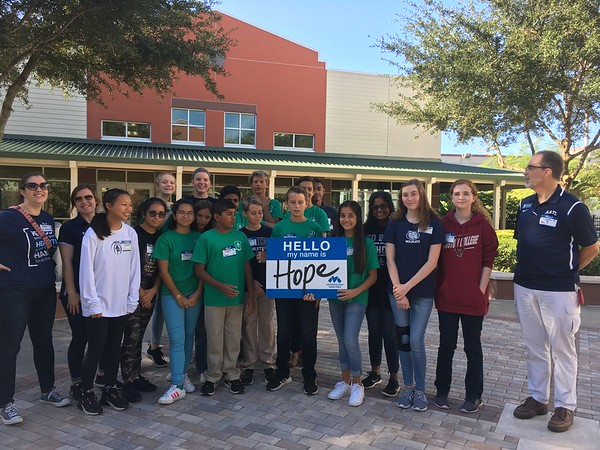 7th and 8th Grade Service Day September 2019