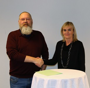 2017 - Undirritun við Afrekssjóð ÍSÍ