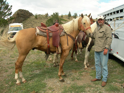 Horseback Ride - Jack Creek - Haymaker Pass  Venus Creek - Greybull River