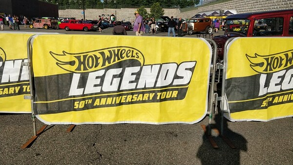 Hot Wheels Legends Tour 50th Anniversary