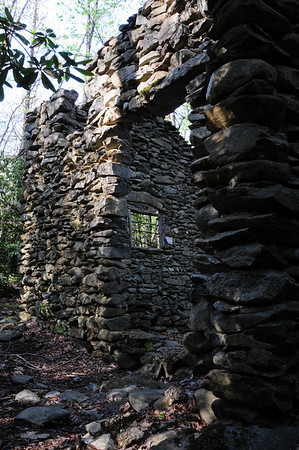 Mystery Rock House in Sugarlands