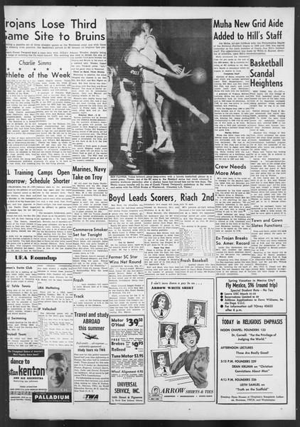 Daily Trojan, Vol. 42, No. 81, February 28, 1951
