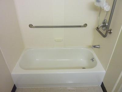 Steel Bathtub Conversion to Shower ... Custom Built.  Mount Union, PA
