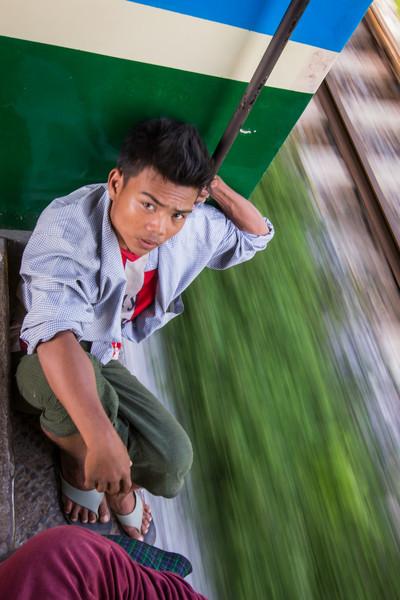 Yangon Ring Train