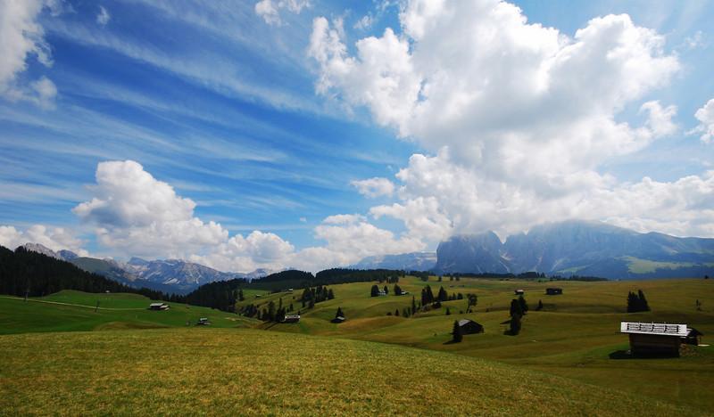Alp, Seiseralm 2009