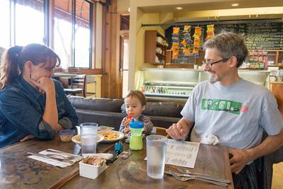Breakfast at the Westside Cafe
