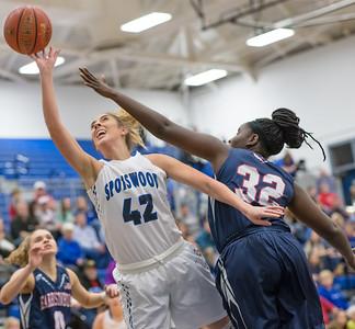 2018 Spotswood Varsity Girls Basketball vs Harrisonburg