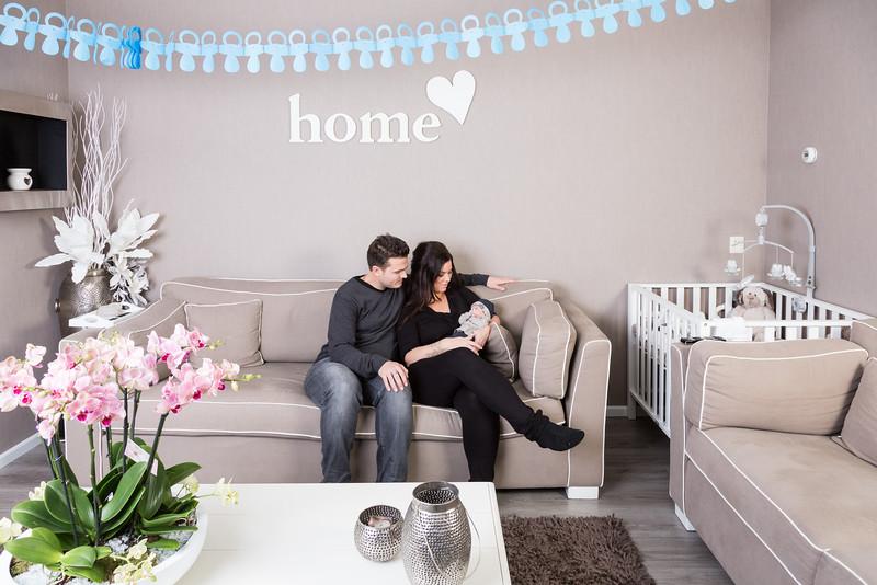 Lifestyle fotoshoot aan huis