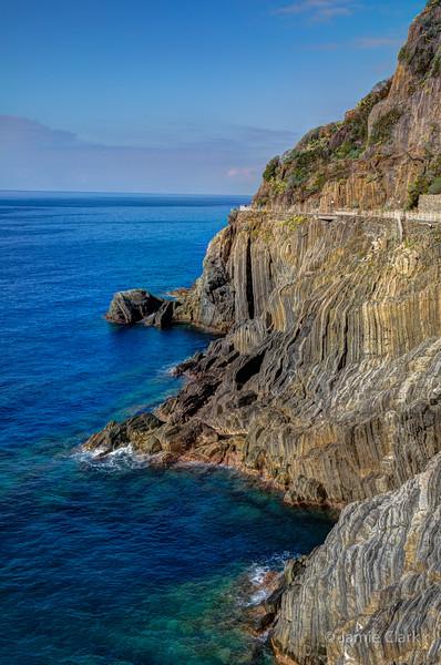 Riomaggiore, Cinque Terre, Italy -  October 2017