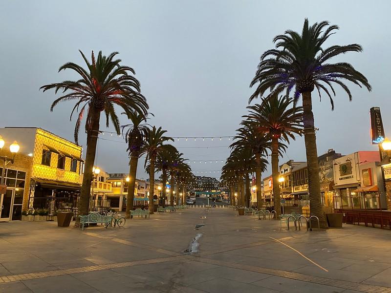"""""""Pier Plaza Morning"""""""