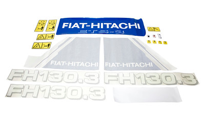 HITACHI FH 130.3 DECAL SET