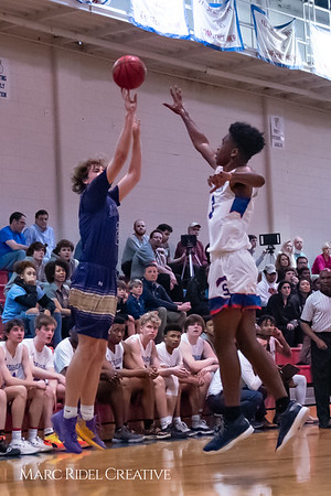 Broughton boys varsity basketball vs Sanderson. February 12, 2019. 750_6290