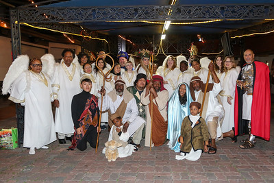 2018 Old World Christmas Nativity Play
