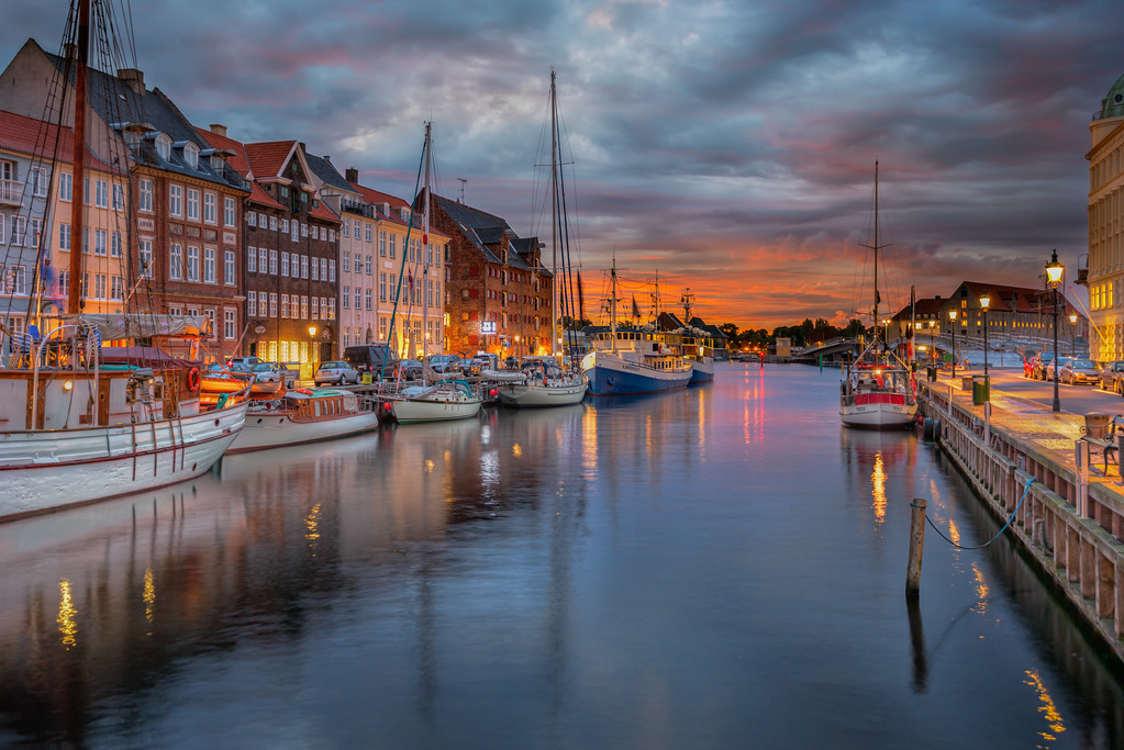 Nyhavn Just Before Sunrise